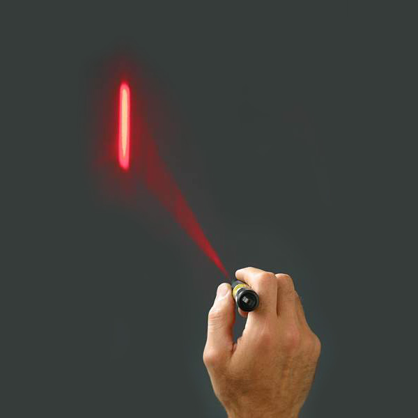 Rescue-Laser-Flare-on-a-wall