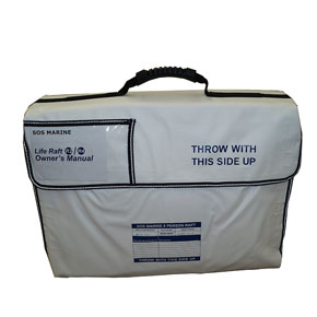 SOS-5655-4-Person-Life-raft-packed