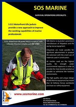 S.O.S. Waterfront Professional Lifejacket vest
