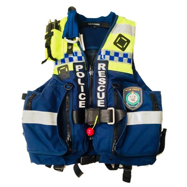 Swift Water Police Rescue Life Jacket
