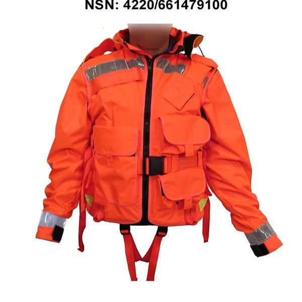 SOS-5022-Orange-E-&-E-Life-jacket-Vest