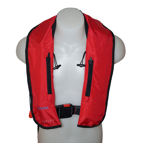 Sea-Survive-Red-plastic-buckle