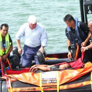 Sea-Scoopa-recovering-a-man-overboard-onto-stretcher