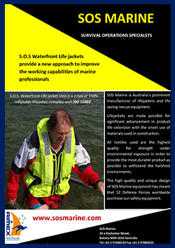 S.O.S. Waterfront Professional Lifejacket vest