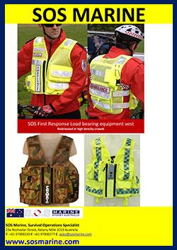 SOS First Response Equipment Vest