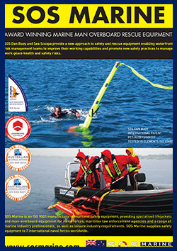 ISO lifejackets for the professional plus new man overboard rescue equipment
