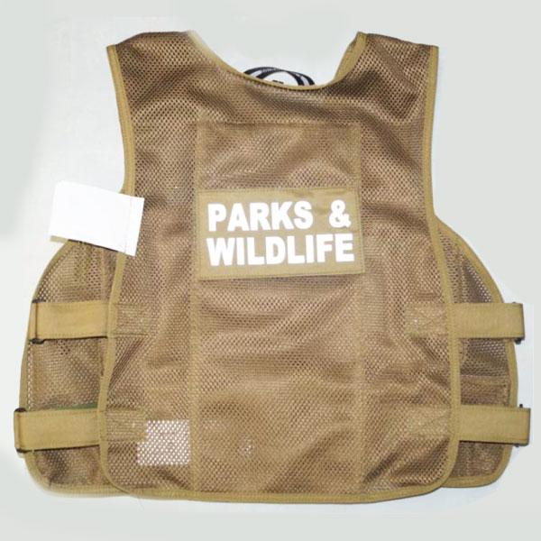 Load-Bearing-equipment-vest - parks wildlife 2