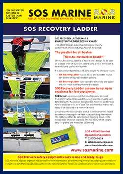 SOS Marine Recovery Ladder and Sock